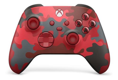 Control Joystick Inalámbrico Microsoft Xbox Wireless Controller Series X|s Daystrike Camo Special Edition
