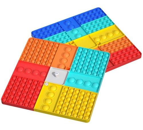 Jogo De Xadrez De Estresse Sensorial Pop It Fidget Toy 31 X