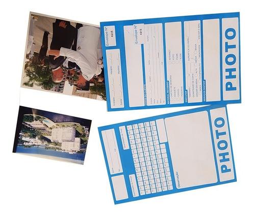 Envelope Fotoacabame  Numerado Photo Psg Kodak E Fuji (200)