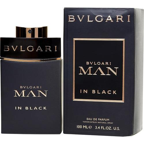 Locion Perfume Bvlgari Man In Black 100 - L a $1800