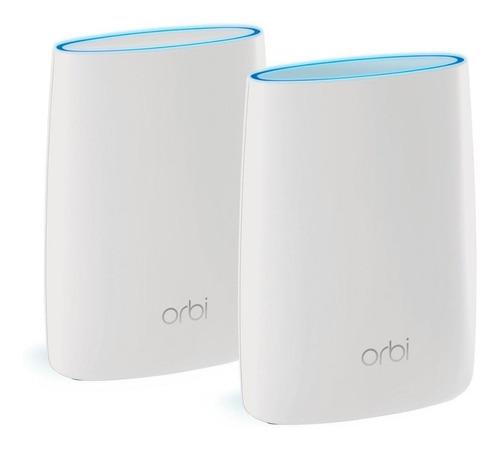 Sistema Wi-fi Mesh Netgear Orbi Rbk50  Branco 2 Unidades