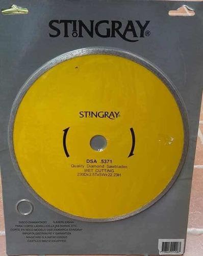 Disco Diamantado Stingray 230mm.modelo Dsa..corte En Seco.