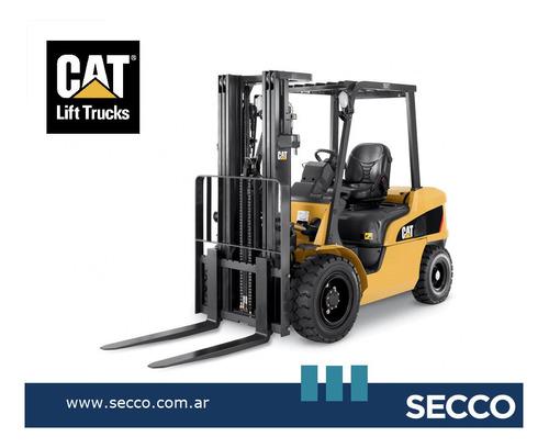 Autoelevador Cat 2,5 Tn Diésel Nuevo 0 Hs Origen Est Unidos