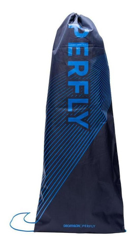 Capa Raquete De Badminton Bl 100 Perfly - Cor Preto-azul