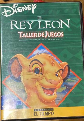 Taller De Juegos Rey Leon Disney Pc