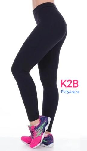 Calça Legging K2b Feminina Original Tecido Grosso Cós Alto