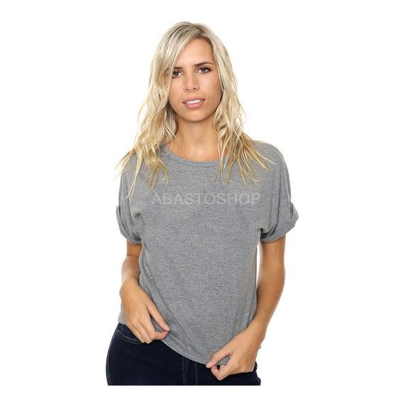 Remera Mujer Recta (no Entallada) Moda Urbana 100% Algodón Ver Tabla De Talles En Descripción Varios Colores!