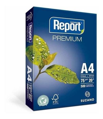 Papel Report A4 75g 500 Hojas