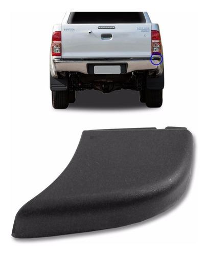 Acabamento Do Parachoque Traseiro Pickup Hilux 2005 A 2015