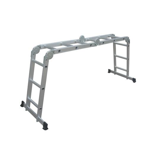 Escalera Combinada De Aluminio 8 Posiciones