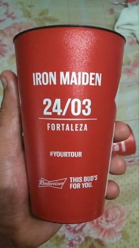 Copo Iron Maiden Fortaeleza Budweiser 2016