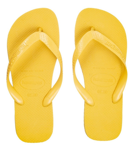 Chinelo Havaianas Top Amarelo Ouro