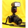 Câmera Fotográfica Profissional Nikon D.5000 Semi Nova