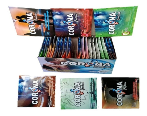 Oferta Condones Corona 2 Cajas 144 - Unidad a $253