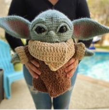 Patrón Amigurumi Baby Yoda