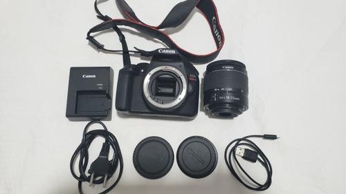 Canon T6 + Lente 18-55mm - Frete Grátis