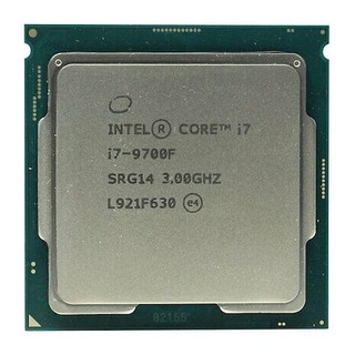 Procesador Intel Core i7-9700F BX80684I79700F de 8 núcleos y 3GHz de frecuencia