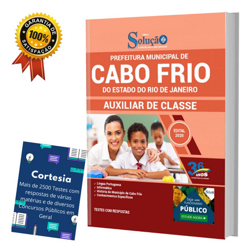 Apostila Concurso Cabo Frio Rj Auxiliar De Classe