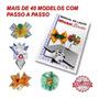 Apostila Manual De Laços Mais De 40 Modelos Passo A Passo