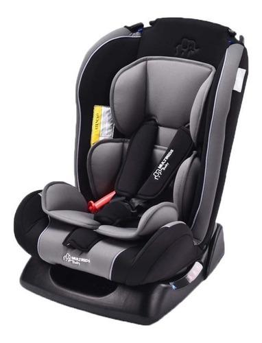 Cadeira Infantil Para Carro Multikids Baby Prius Cinza