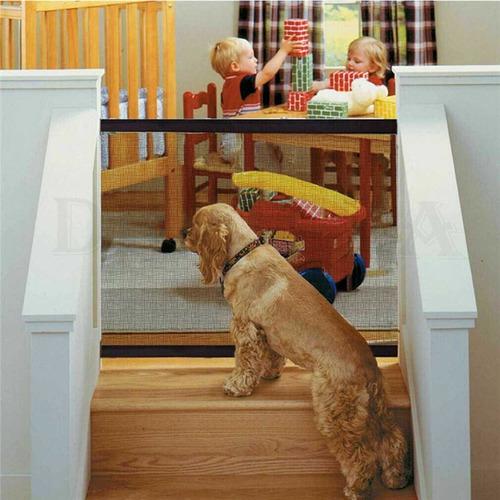 Grade Porta Nylon Tela Isolamento P/ Cachorro Pet Shop Bebê
