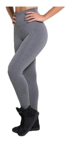Kit 3 Calças Legging Suplex Voce Escolhe As Cores E Tamanho