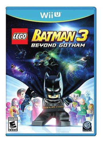 Lego Batman 3: Beyond Gotham Warner Bros. Wii U  Físico