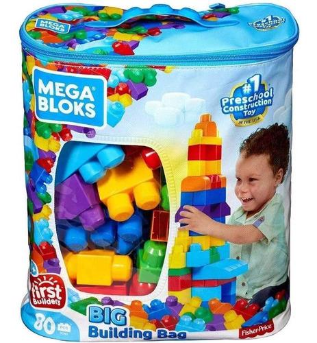 Mega Blocks Sacola 80 Peças (mattel) Dch63