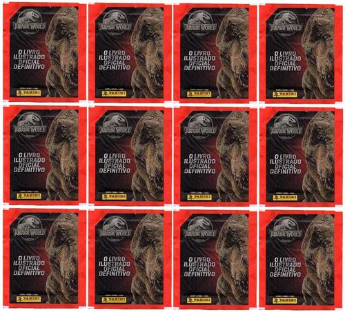 Kit 80 Figurinhas E 20 Cards Do Jurassic World (20 Envelopes
