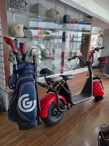 Sunra Spyracing Citycoco 1000w Con Accesorio Golf 12,5ah Y