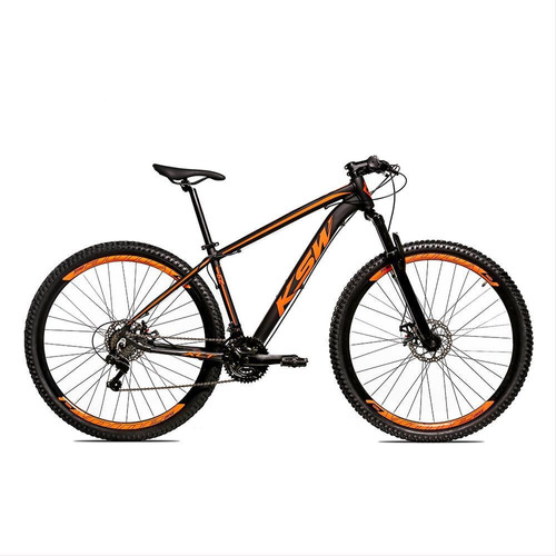 Bicicleta Alumínio Aro 29 Ksw 24 Vel Freio A Disco Krw16
