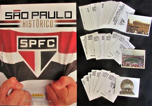 Album Figurinhas São Paulo Histórico Completo P/ Colar