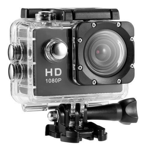 Câmera Filmadora Sport Hd 1080p À Prova D'agua Mergulho Bike