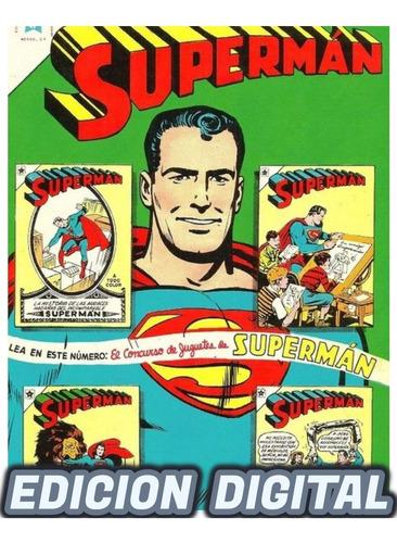 Superman Novaro Colección Cómic Digital 1300 Ejemplares