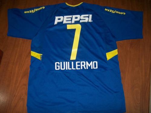 Boca Juniors 2004 Guillermo Schelotto#7 Tamanho Xl Original
