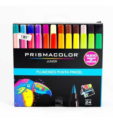 Marcadores Prismacolor Punta Pincel X24
