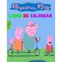 Peppa Pig Libro De Colorear: Imagem E Dibuja Con Peppa (pep