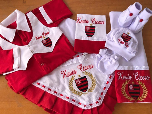 Saída Maternidade Personalizado Times De Futebol