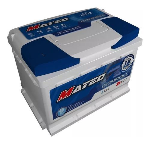 Batería Mateo 12x70 Suran Gol Vento 206 207 Sandero