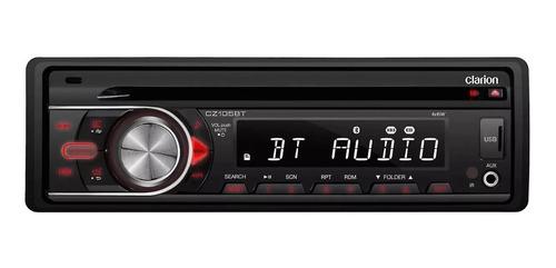 Estéreo Para Auto Clarion Cz105bt Con Usb, Bluetooth Y Lector De Tarjeta Sd