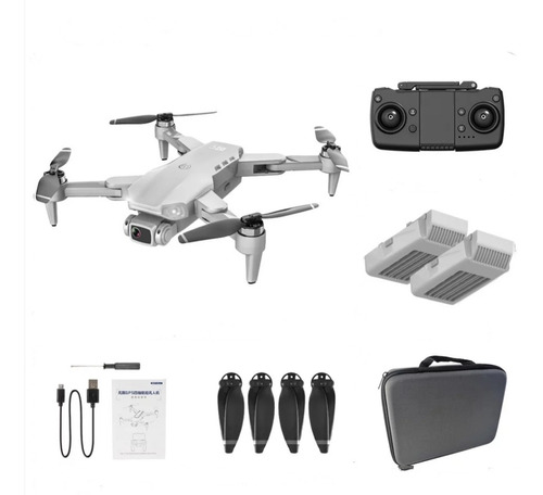 Drone L900 Pro 4k Motor Brushless Gps + Case Com 2 Baterias