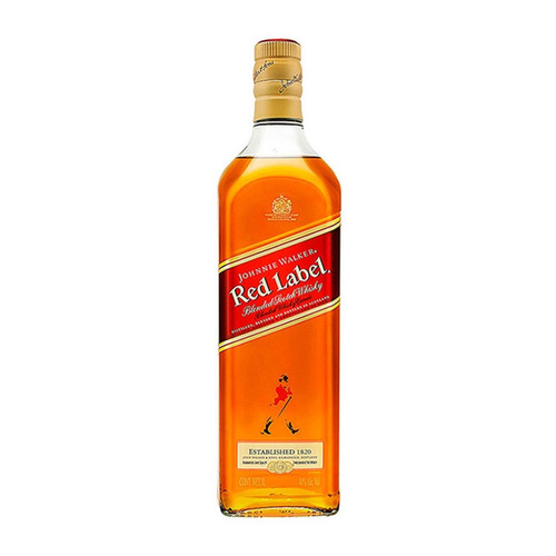 Johnnie Walker Red Label Blended Scotch Escocés 1 L