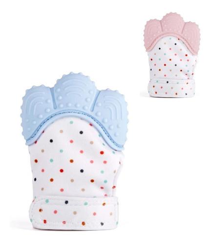 Luva Mordedor Bebê Luvinha Silicone - 1 Und