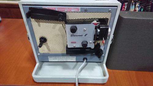 Coleccionistas Proyector 8mm Kodak A-15g Unico En Su Estado!