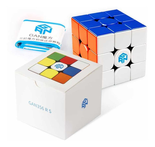 Cubo Mágico 3x3x3 Gan 356 Rs Profissional Versão 2020