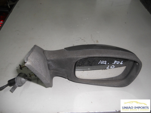 Espelho Retrovisor Manual Peugeot 306 L/d Nº102 158
