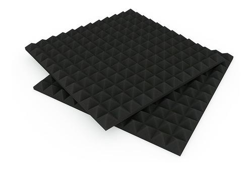 Panel Acústico Fonoabsorbente Pirámide Basic 30mm X 8 U