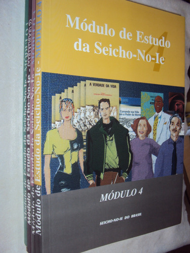 Módulo De Estudo Da Seicho-no-ie Vols. 1, 2, 3, E 4 (sebo Am