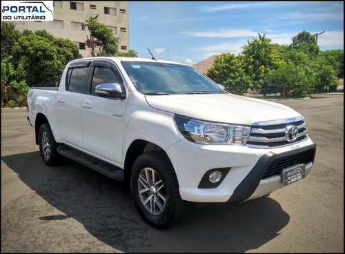 Toyota Hilux Srv - 2017 - Único Dono, Baixo Km, Super Nova !