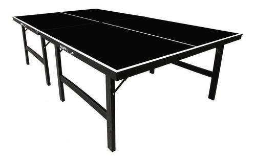 Mesa De Ping Pong Klopf 1010 Preta
